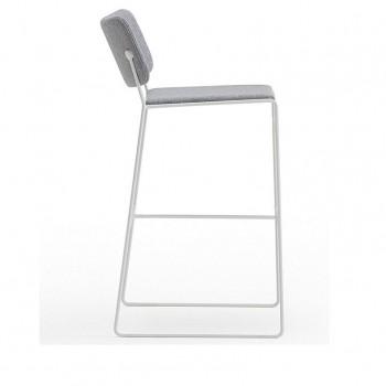 Key Upholstered Bar Stool