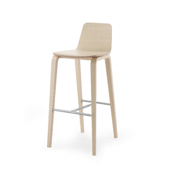 Mimo Wooden Barstool