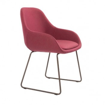 Civic Sled Arm Chair