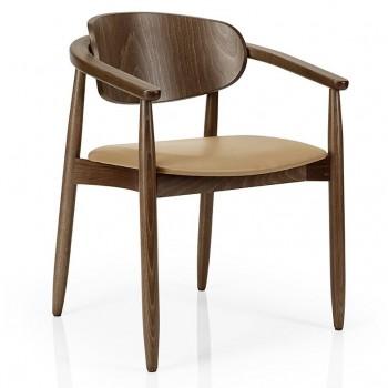 EDITION Lister Wood Arm Chair