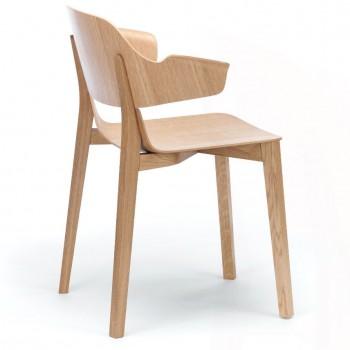EDITION Polo Wood Arm Chair