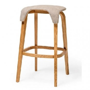 EDITION Polo Upholstered Side Stool