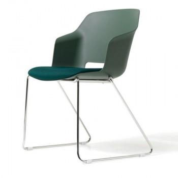 Avalon Sled Arm Chair