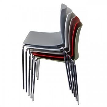 Pontiac Corporate Poly 4 Leg Chair
