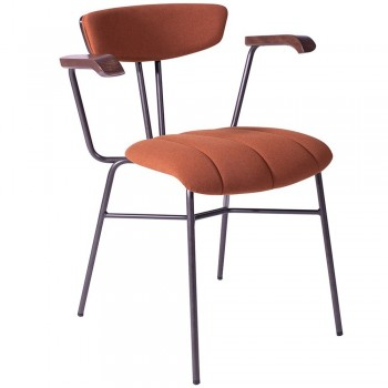 EDITION Cortez Upholstered Inner Arm Chair